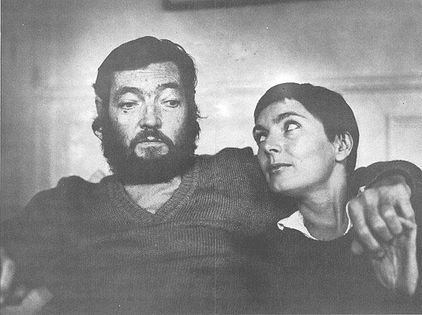 Julio Cortázar conoció a Carol Dunlop en Canadá en 1977 y se casaron en 1981.