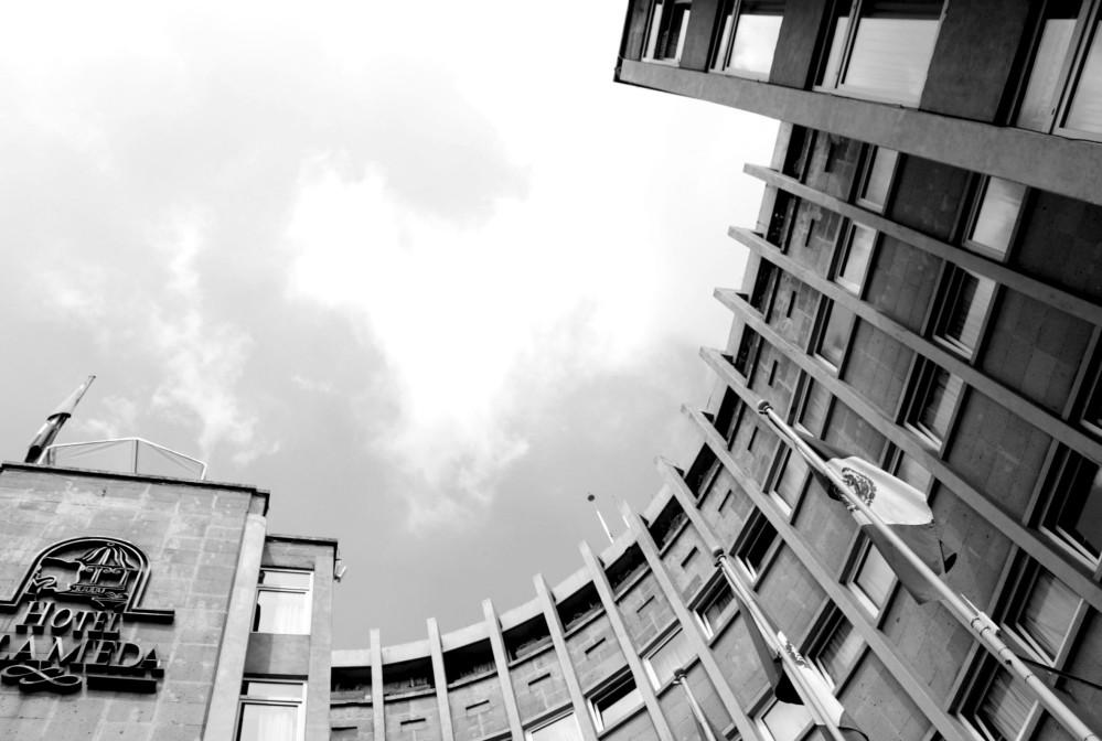 detalle fachada hotel alameda