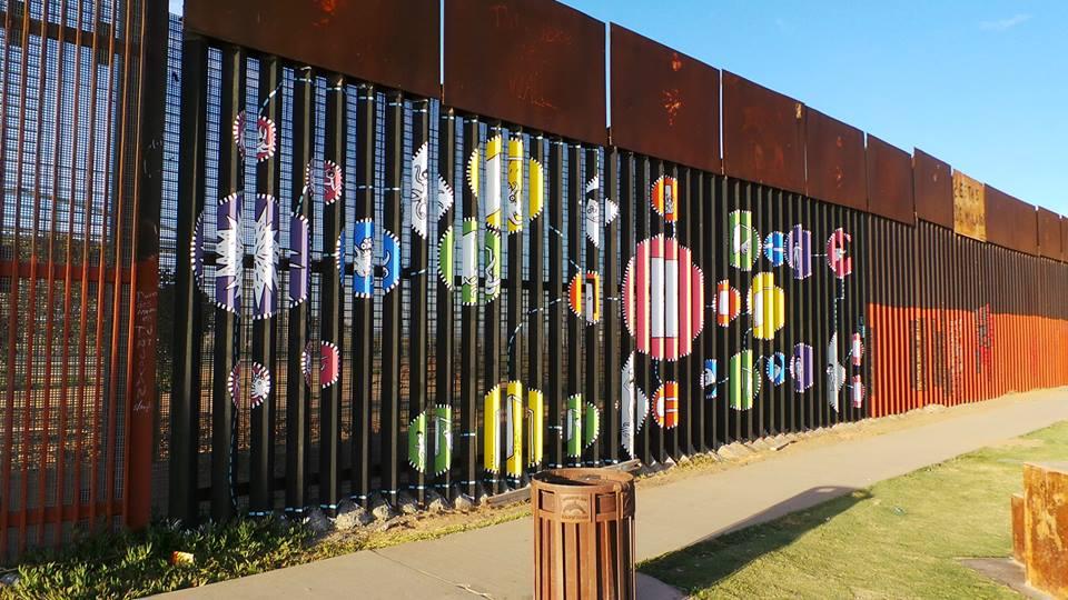 No. 3 Muro fronterizo entre México-EUA