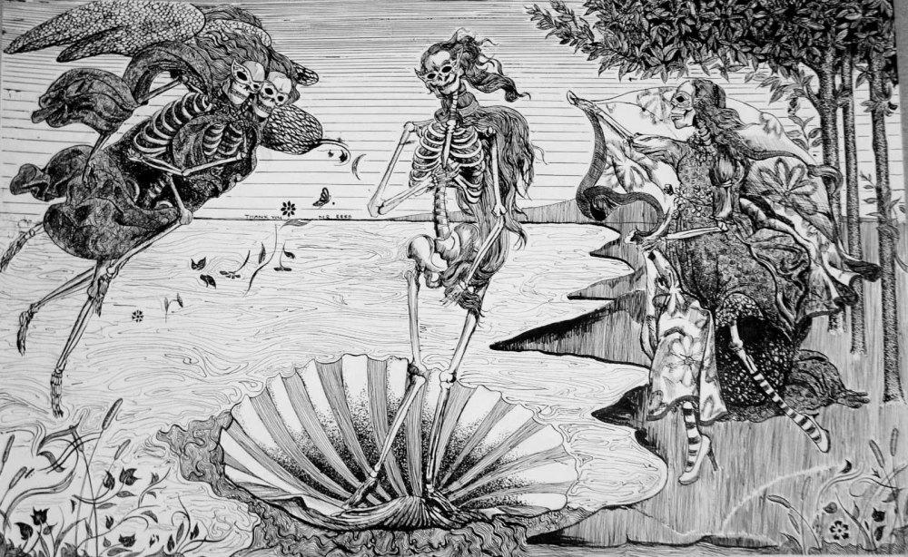 Birth of Venus - creepy version