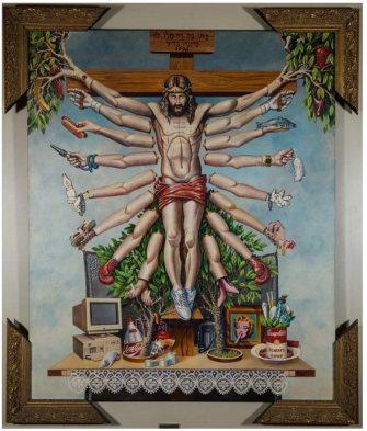 queermuseu-fernando-baril-cruzando-jesus-cristo-com-deusa-schiva-1996