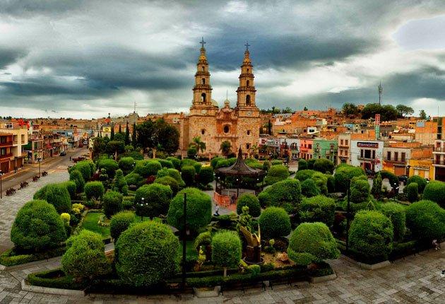 Plaza de Armas de Encarnación de Díaz, Jalisco